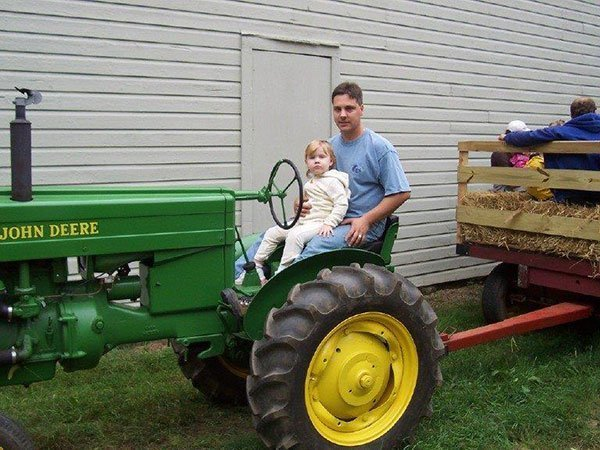 Tractor at the Ayres/Knuth Farm