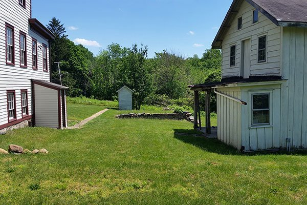 Farmhouse, Tenant House, and Outhouse at the Ayres/Knuth Farm