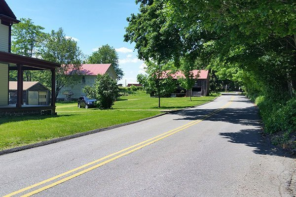 Cooper Road, Denville, in front of the Ayres/Knuth Farm