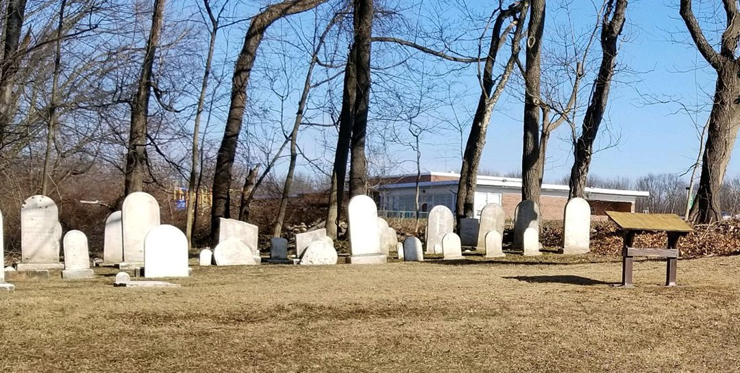 Scouts Add Names to the Historic Cemetery