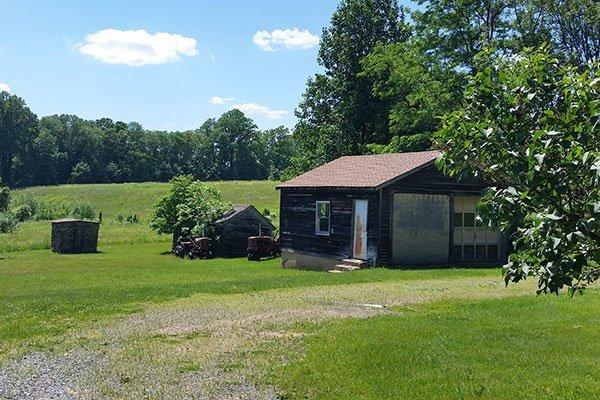 Garage, Smoke House, and Chicken Coop at the Ayres/Knuth Farm