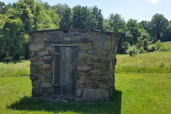 Smoke House at the Ayres/Knuth Farm