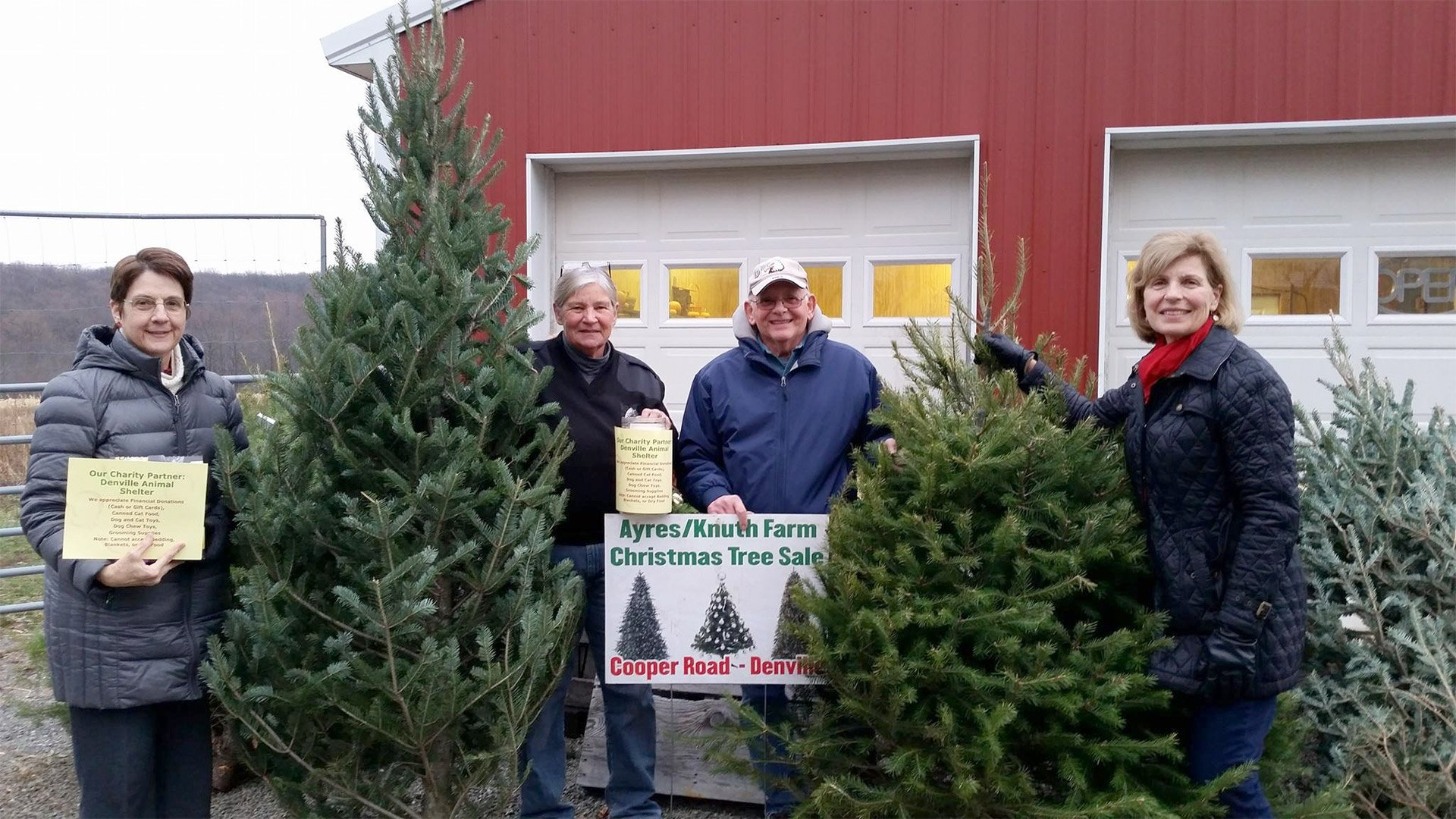 Annual Tree Sale fundraiser at the Ayres/Knuth Farm